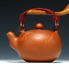 YiXing Purple Clay Pot Pottery Handmade Ware Zisha Teapot Kung Fu Tea Set 180ml