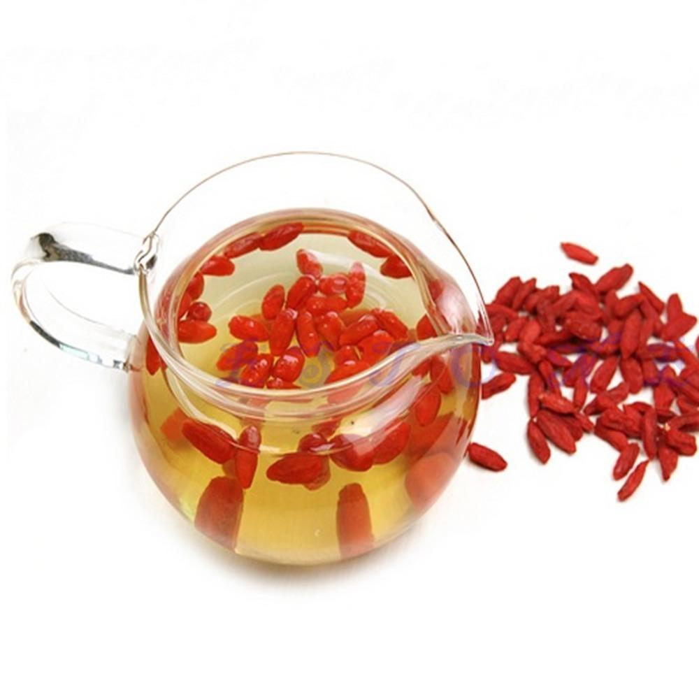 W110 on sale 50g pack Natural Premium Organic Goji Berry Dried Lycii Wolfberry tea Healthy New