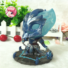 Thresh The Chain Warden 024# Action Figure 1/10 scale painted figure Q Ver. The Chain Warden Thresh Doll PVC ACGN figure 10CM