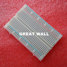 Qualität mini brot board/breadboard 8,5 CM x 5,5 CM 400 löcher(China (Mainland))