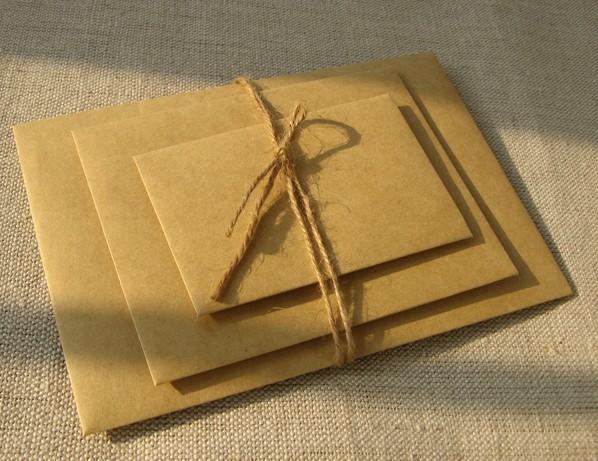 Brown Envelope Wedding