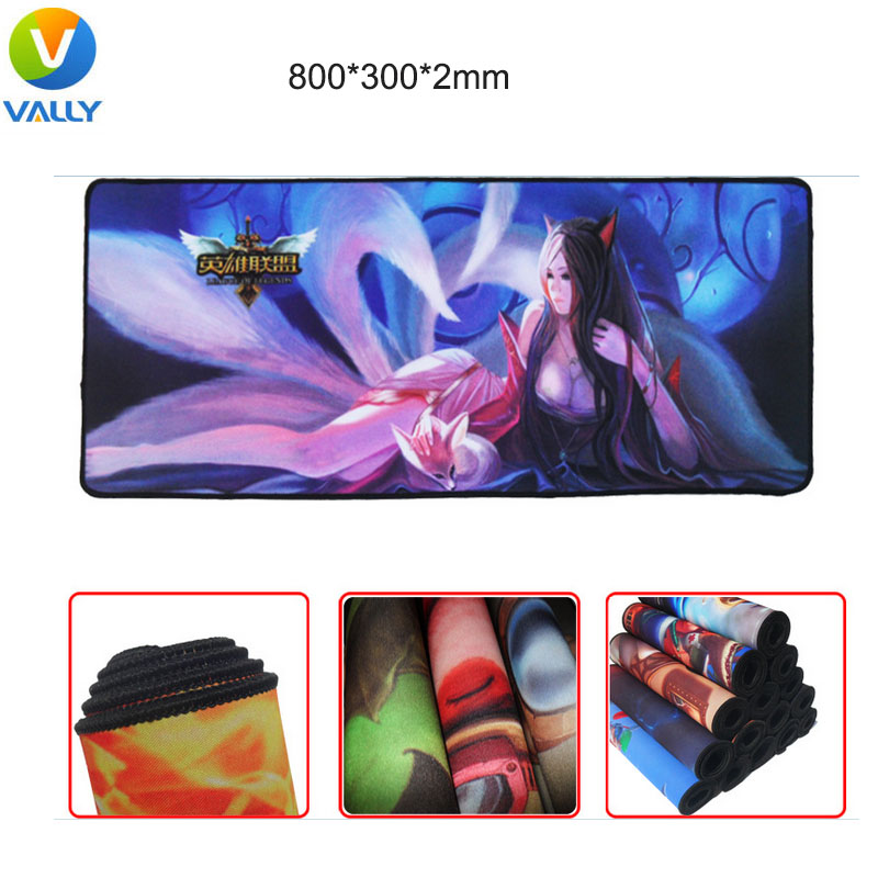 800*300*2mm Hot New Rubber Top Game Mouse Pad locking edge PC Computer Laptop Gaming Mice Play Mat Mousepad mouse pad<br><br>Aliexpress
