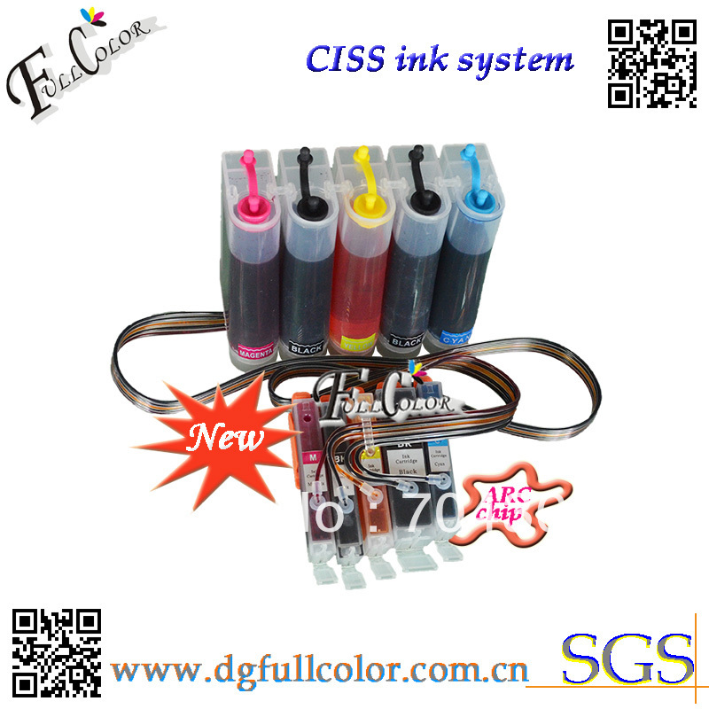 Фотография Free shipping  new and hot  Compatible CISS 550 551 ink system with ink and ARC chip For PIXMA IP7250 inkjet printer CISS