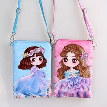Cartoon PUleather double zipper Children Bags new fashion handbags kids Messenger bag Shoulder Bag for kindergarten girl 23color