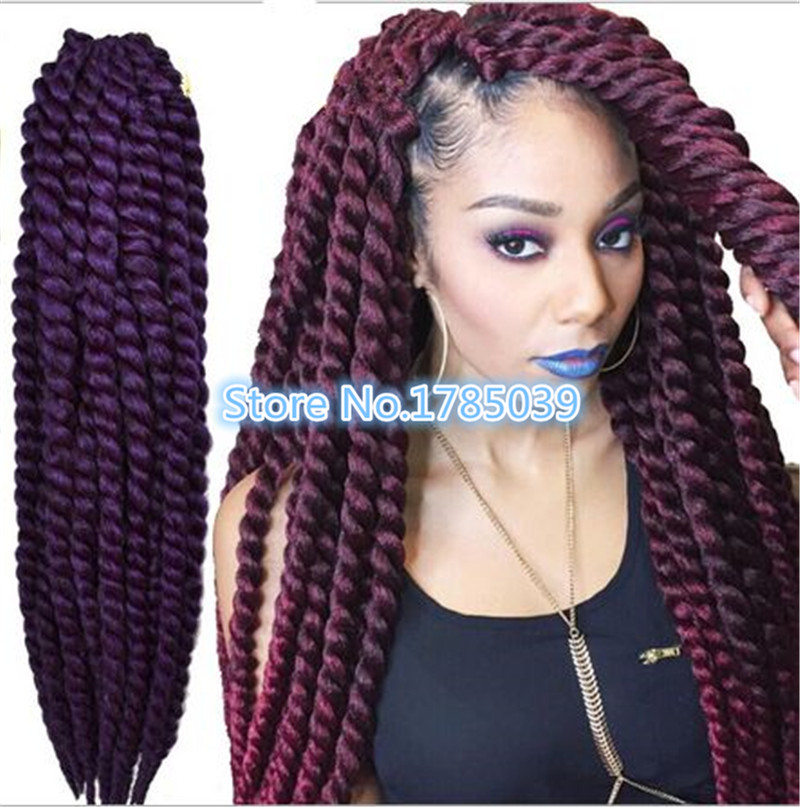 Crochet Hair Extensions For Sale : Only Weaving Hot Sale Time limited Braiding Hair Marley Braid Crochet ...