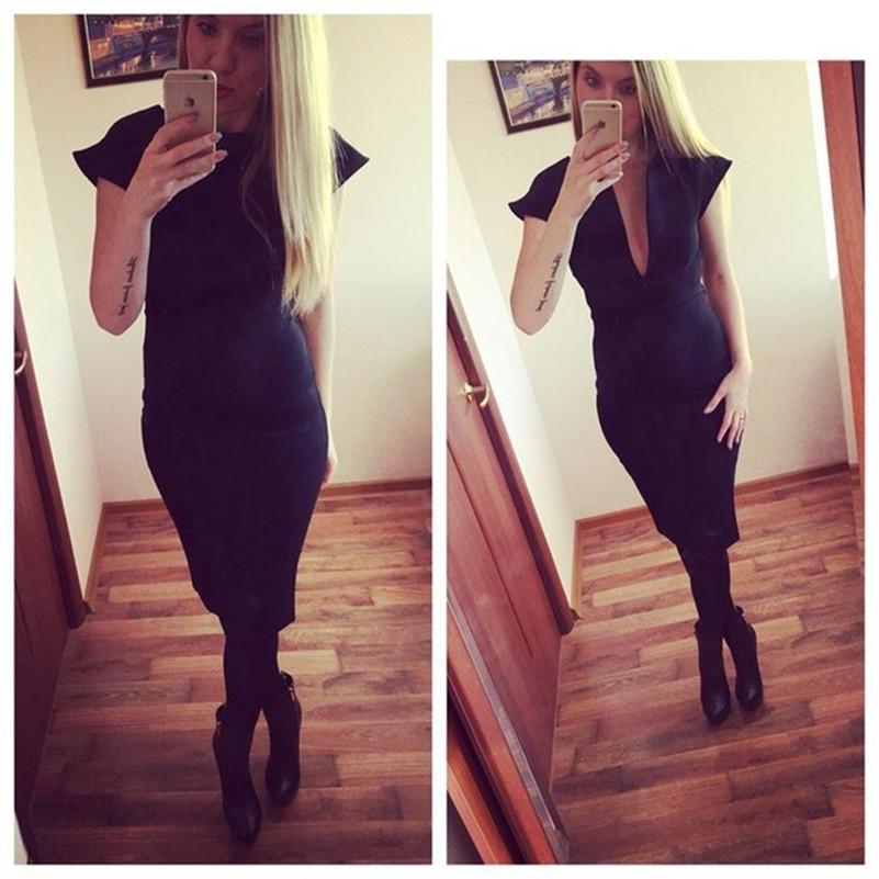 Платье свободного покроя, женское осень зима средняя икры sollid завышенная талия платье