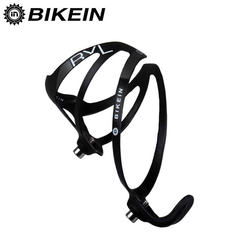 BIKEIN - Super Light UD Carbon Road/Mountian Bike Water Bottle Holder Cycling Bicycle Bottle Cage Matte Black/White 16g Only(China (Mainland))