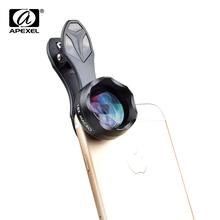 Buy APEXEL universal clip-on 18x super macro Lens professional HD macro mobile phone camera lenses iPhone 6 7 Xiaomi Samsung HTC for $8.00 in AliExpress store