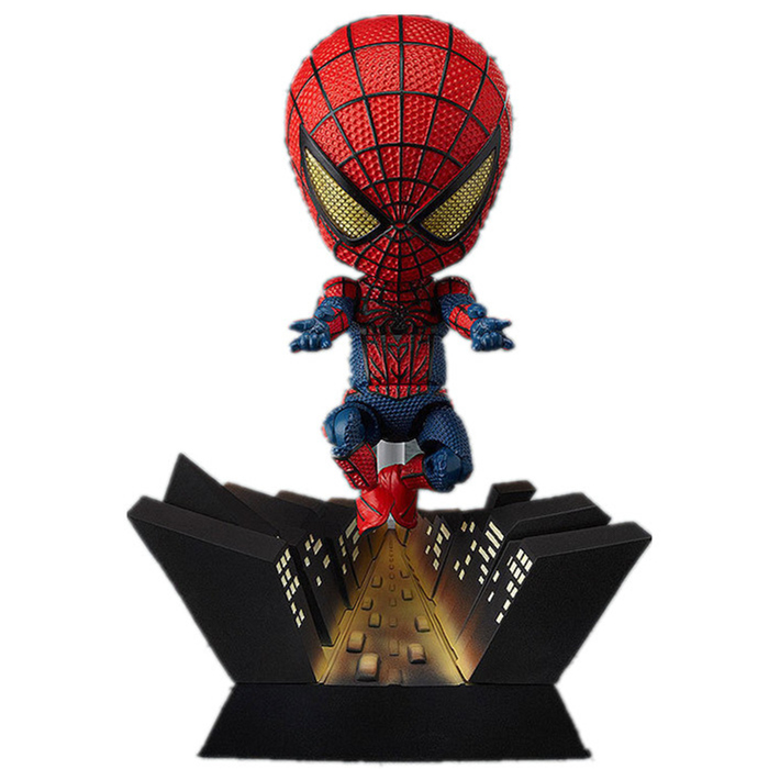 9-11cm Funko pop Action figure Marvel's The Avengers spiderman figma cute lovely PVC box-packed movie figurine. GH098(China (Mainland))