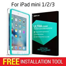Screen Protector for iPad mini 1/2/3, ESR Tempered Glass Screen Protector with Free Applicator for iPad mini 1/2/3(China (Mainland))