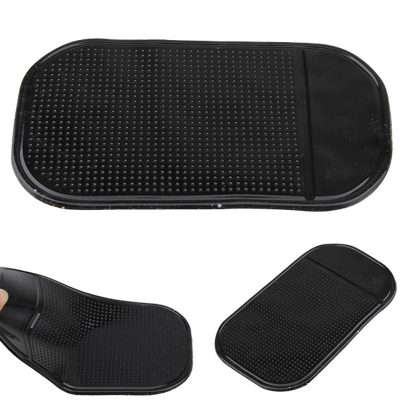 4Pcs/Lot Universal Car Dashboard Magic Anti Slip Mat Non-slip Sticky Pad Key Cellphone Mobile Phone GPS Holders(China (Mainland))