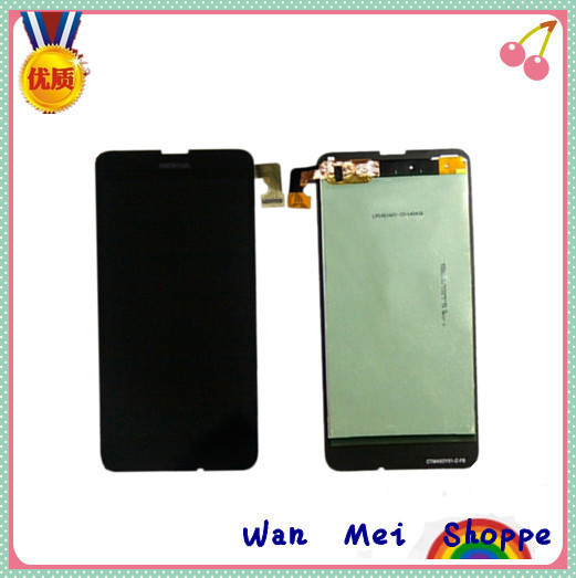 Original Glass Touch Digitizer Screen+LCD Display Digitizer Assembly Replacement For Nokia Lumia 630(China (Mainland))