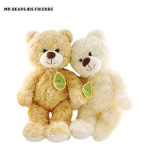 Buy Hot 30CM Kawaii Small Teddy Bears Plush Toys Stuffed Animals Fluffy Bear Dolls Soft Kids Toys Random Necklace/Bow Children Gift for $6.48 in AliExpress store
