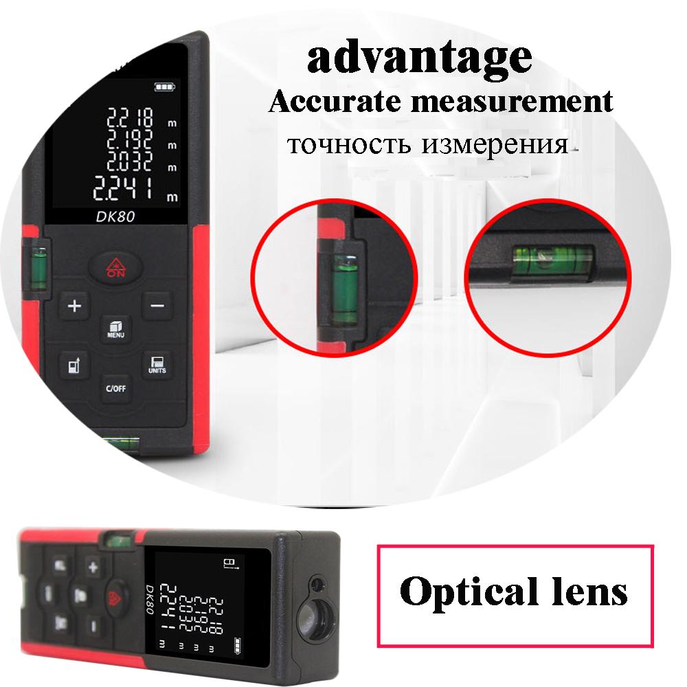 laser rangefinder range finder digital laser distance meter 40m 60m 80m 100M trena tape measure ruler laser Roulette tester tool
