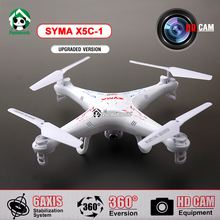 Quadcopter Syma X5C-1 Drone with Camera  4 Channel 2.4GHz  Syma X5c RC Remote Control RC Helicopter Quadrocopter 2MP HD Camera(China (Mainland))