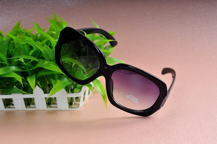 Sunglasses women's 2013 polarized glasses fashion star brief large frame vintage leopard print sunglasses(China (Mainland))