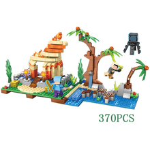 Buy JP World Minecraft Conch Adventure Building Blocks Bricks Compatible lepin Toys Children fun gifts for $17.10 in AliExpress store