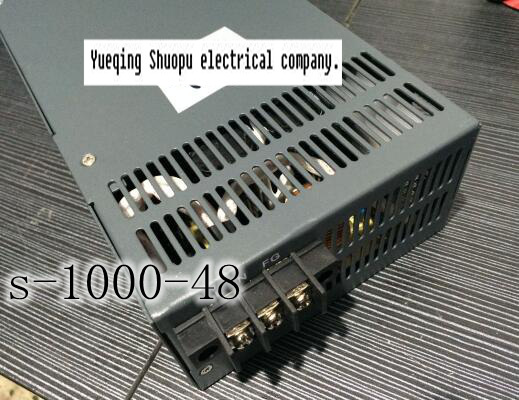 s-1000-48 1000W 48V Switching power supply for LED Strip light AC to DC power suply input 110v or 220v 1000w ac to dc(China (Mainland))