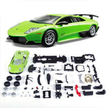 1:24 Metal assembles toy factory gallardo alloy assembly models simulation model car pokemon dragon ball(China (Mainland))
