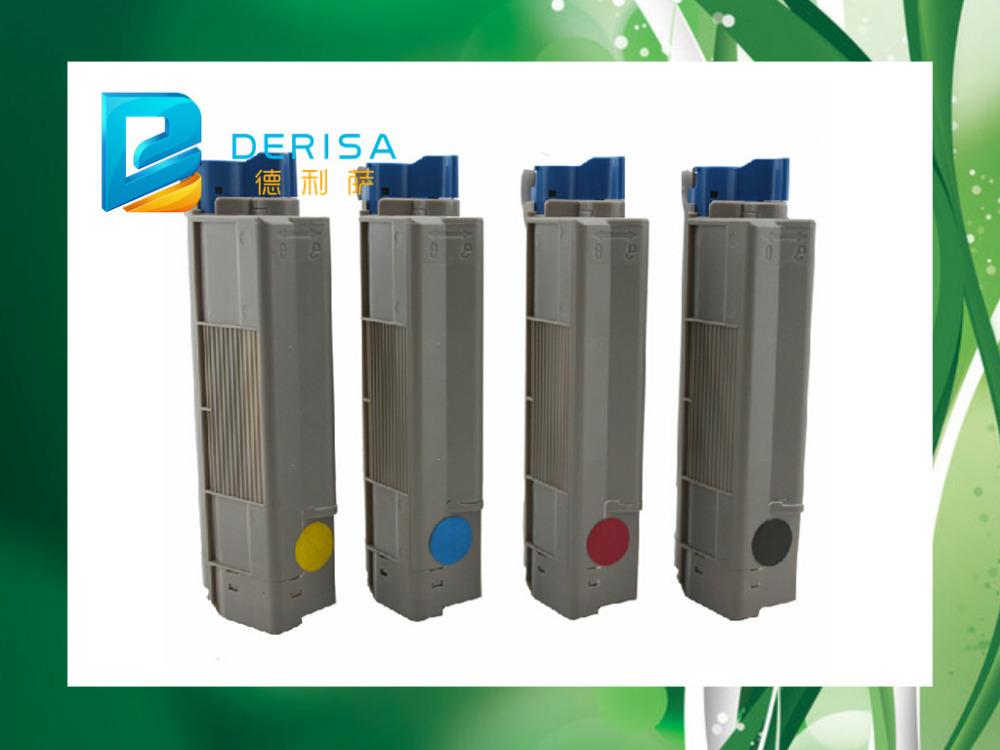 Toner For OKI C610 Color Laser Printer,Use For Okidata 44315304/03/02/01 For OKI Toner C610 Printer, For Oki C 610 Toner(China (Mainland))