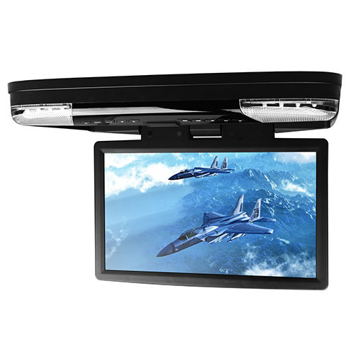 """15.6"""" Car Roof Mounted DVD Player With 32 Bits Game Flip Down Monitor Ultra-thin Overhead Wide Screen HDMI Port Ceiling HD Video(China (Mainland))"""