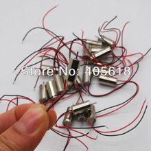 5 unids 1.5 V 6x12mm Sin Núcleo Motor de CORRIENTE CONTINUA de alta velocidad magnético Fuerte para el helicóptero modelo de avión juguetes