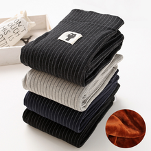 Buy 2017 autumn winter cashmere warm fitness leggings women striped cotton workout legging legins leggins women female for $17.71 in AliExpress store