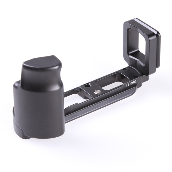 Vertical L Type Bracket Tripod Quick Release Plate Base Handle Grip For Olympus OMD EM10 E-M10 <br><br>Aliexpress