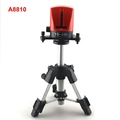 ACUANGLE A8810 YD 810 Portable Laser Level with AT280 Tripod 2 Red Line Cross Leveling Instrument