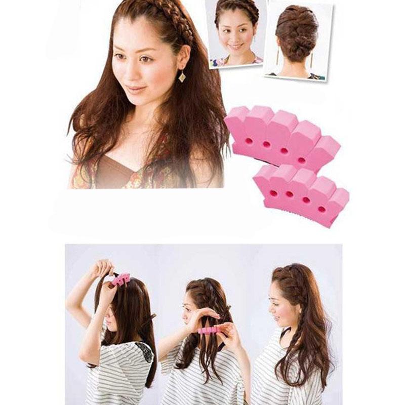 New Arrival Fashion Braid Tool Practical DIY Hair Braiding Machine Hair Braider Hair Styling Tools(China (Mainland))