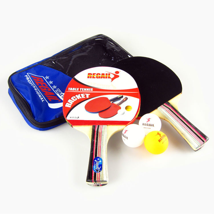 Table tennis set 2 racket 3 ball 1 racket pouch long for Table tennis 6 0