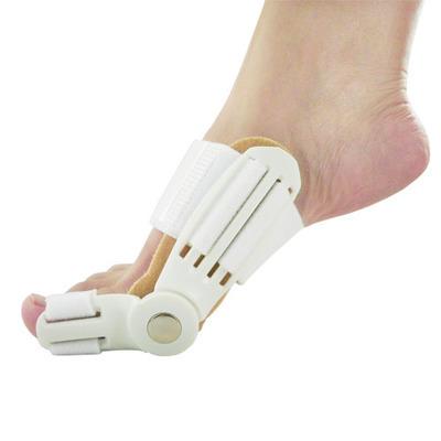 1pair=2pcs new feet care hallux valgus fixed thumb orthopedic braces to correct daily silicone toe big bone Pedicure(China (Mainland))