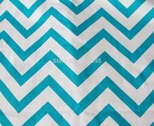 DA248 Vivid blue Stripe on the white A Grade Pure Cotton Canvas Sofa/Cushion Cover Fabric (1Yard) Hongkong post tracking number(China (Mainland))