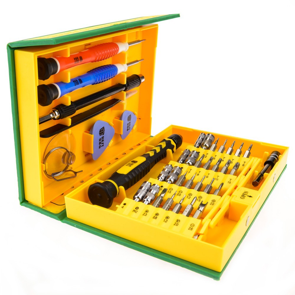 38 in 1 Professional Hardware Repair Tools Kit For iPhone Ipad Laptop Tablet PC  Versatile Precision Electronic Tool BEST-8921(Hong Kong)