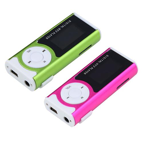 1 3 Mini USB Clip LCD Screen MP3 Media Player Support 16GB Micro SD TF