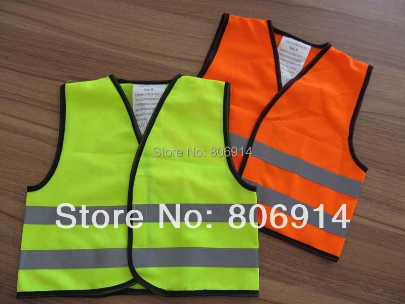 100 pcs/lot 0 - 4 лет малыш / / малыша ( дошкольного малыш ) высокая видимость безопасный отражающий трафик жилет