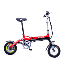 "12"" Mini Electric bicycle foldable  bike with 36V Lithium Ion battery  pedal assist smart leisure ebike"