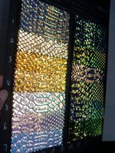 0.7mm synthetic snake PU holographic leather/ holographic laser leather/ snakeskin material/ snake skin fabric/ free shipping(China (Mainland))