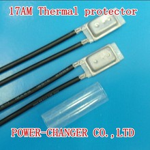 10PCS 17AM037A5  150C 150degree NC  Bimetal temperature switch thermostat Thermal Protector(China (Mainland))