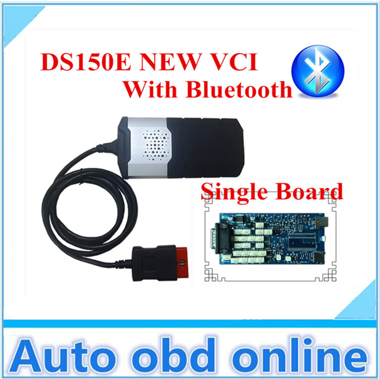 Single board A++ Quality 2014 R2 bluetooth! DS150E CDP TCS PRO CAR+TRUCK diagnostic tool dhl free shipping for TCS Pro Plus(China (Mainland))