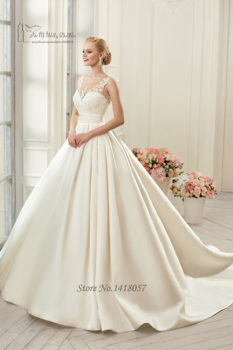 Buy simple vintage ball gown wedding for Vintage ball gown wedding dresses