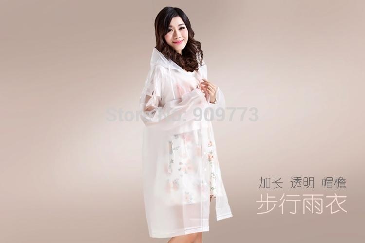 poncho rain raincoat waterproof coat dress jacket font b Burberry b font height 150cm 180cm 0