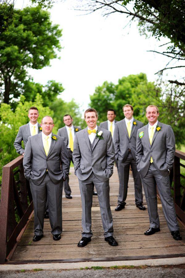 Custom Made Light Grey Groom Tuxedos Groomsman Men's Wedding Prom Suits (Jacket+Pants+Vest+Tie) AAA:058