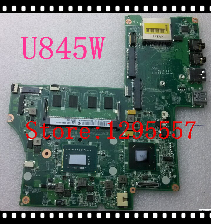 New Arrival For Toshiba Satellite U845W Motherboard A000232570 HM77 integrated SR0N6 i7-3517U DA0TEAMBAD0 100% fully tested(China (Mainland))