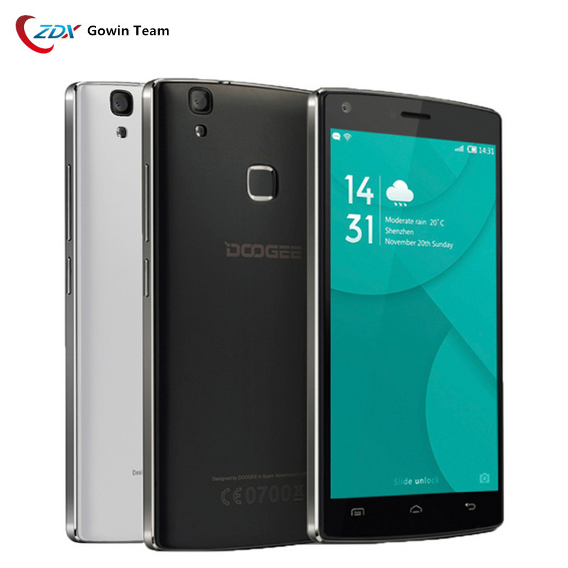 Original 4000mAh Doogee X5 MAX Pro 4G LTE Mobile Phone 5.0'' Android 6.0 MTK6737 Quad Core Smartphone 2GB+16GB 8.0MP Touch ID(China (Mainland))