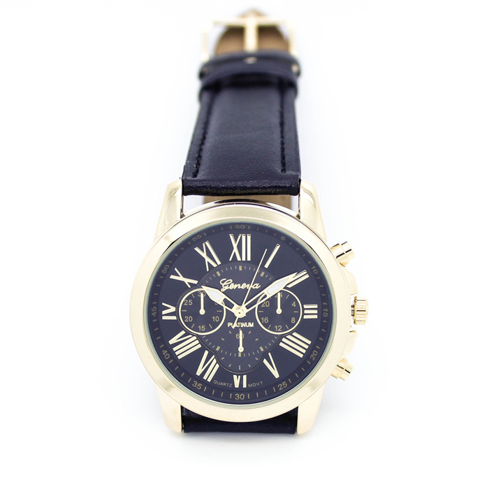 Yoner Special Watch Collection For Womens Roman Numerals Faux Leather Analog Quartz Watch 1001<br><br>Aliexpress