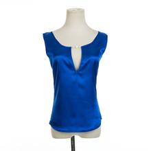 Summer Style Sexy Low V-neck Sleeveless Womens Tank Top Loose Cotton Halter T shirt Women Tops 12 Colors S M L XL XXL XXXL(China (Mainland))