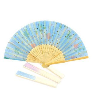 Art Handmade Flower Chinese Fans folding Bamboo Hand Fan(China (Mainland))