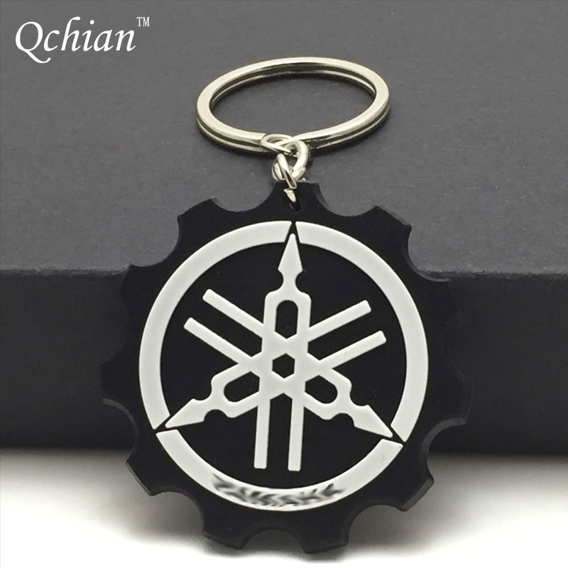 Popular keychain ring holder buy cheap keychain ring for Porte clef yamaha