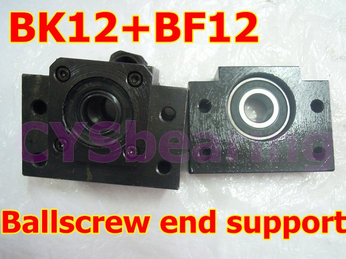 Линейный подшипник CYS 1 BK12 + BF12 SFU1605 ballscrew, CNC XYZ BK12+BF12 велосипедный руль cys al6061ergotec mtb tw 25 4mm 31 6mm tt cys zd2
